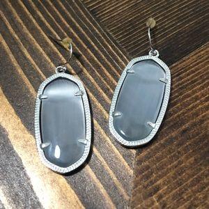 Kendra Scott Elle Slate earrings